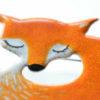 brož liška detail