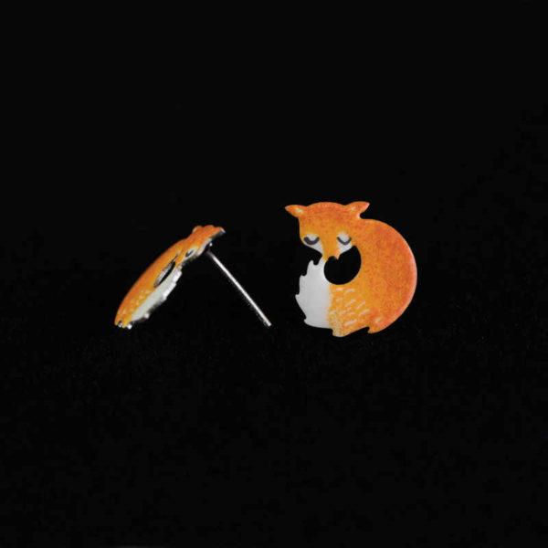 rozverné náušnice lišky