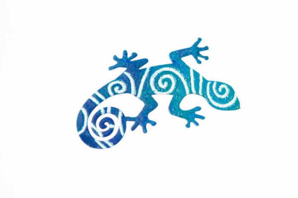 ilustrovaná brož ještěrka