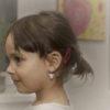 andělé náušnice pro děti