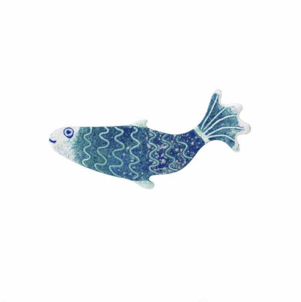 modrá ryba brož