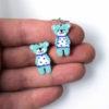 medvědí náušnice pro děti