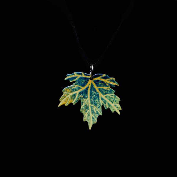 zelený javorový list