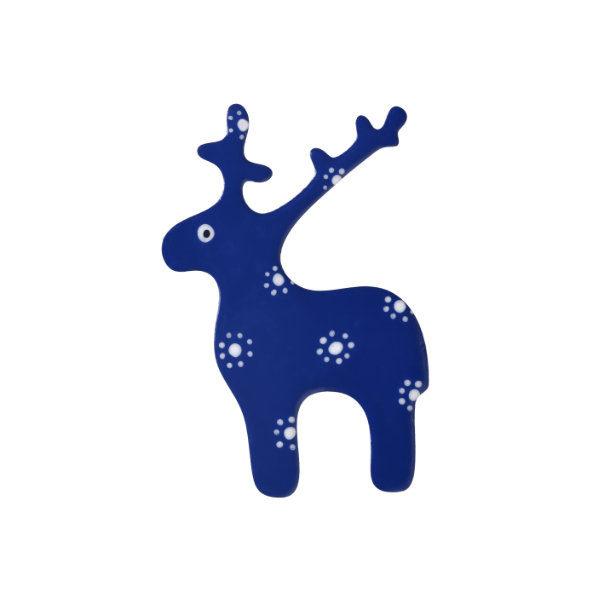 brož jelen námořnická modrá
