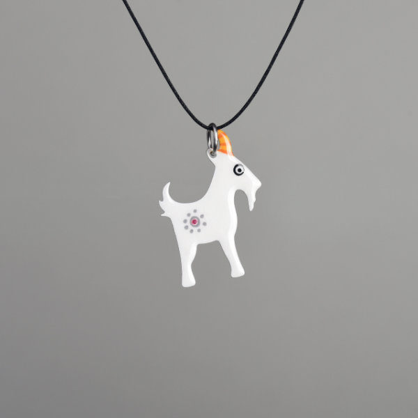 přívěšek koza