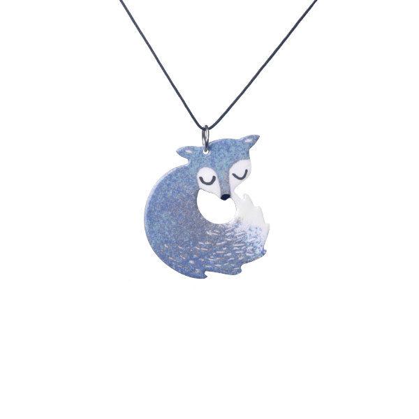stříbrná liška